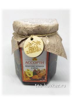 Аcсорти фруктово-ягодное в мёде (240 г)