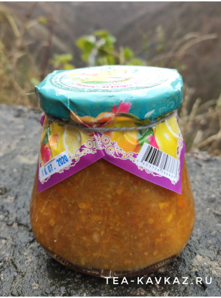 Варенье «Цитрусовый микс с имбирём» (310 г)
