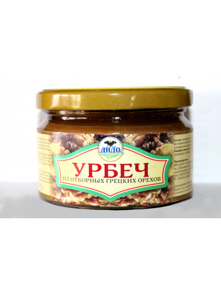 Урбеч из грецкого ореха (250 г)