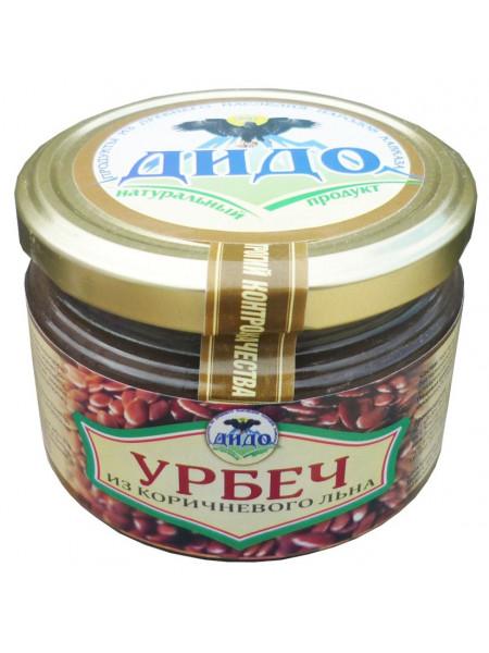 Урбеч из коричневого  льна (250 г)