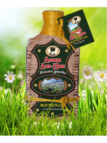 Мёд-бальзам «Легенда Лаго-Наки» женское здоровье