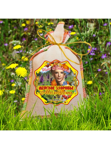 """""""Женское здоровье - молодость"""" травяной чай (мешочек 150 г)"""