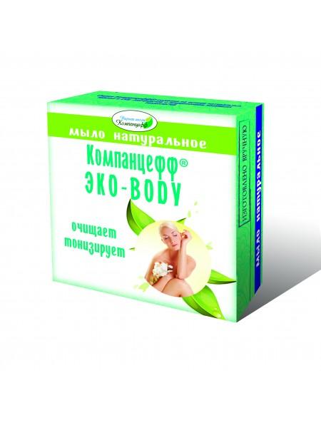 Мыло натуральное «Компанцефф ЭКО-BODY» (95 г)
