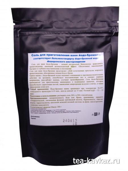 Соль для ванн йодо-бромная (200 г)
